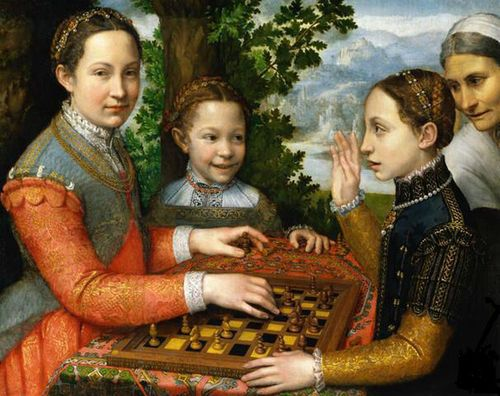 Anguissola_Chess_Game_1555